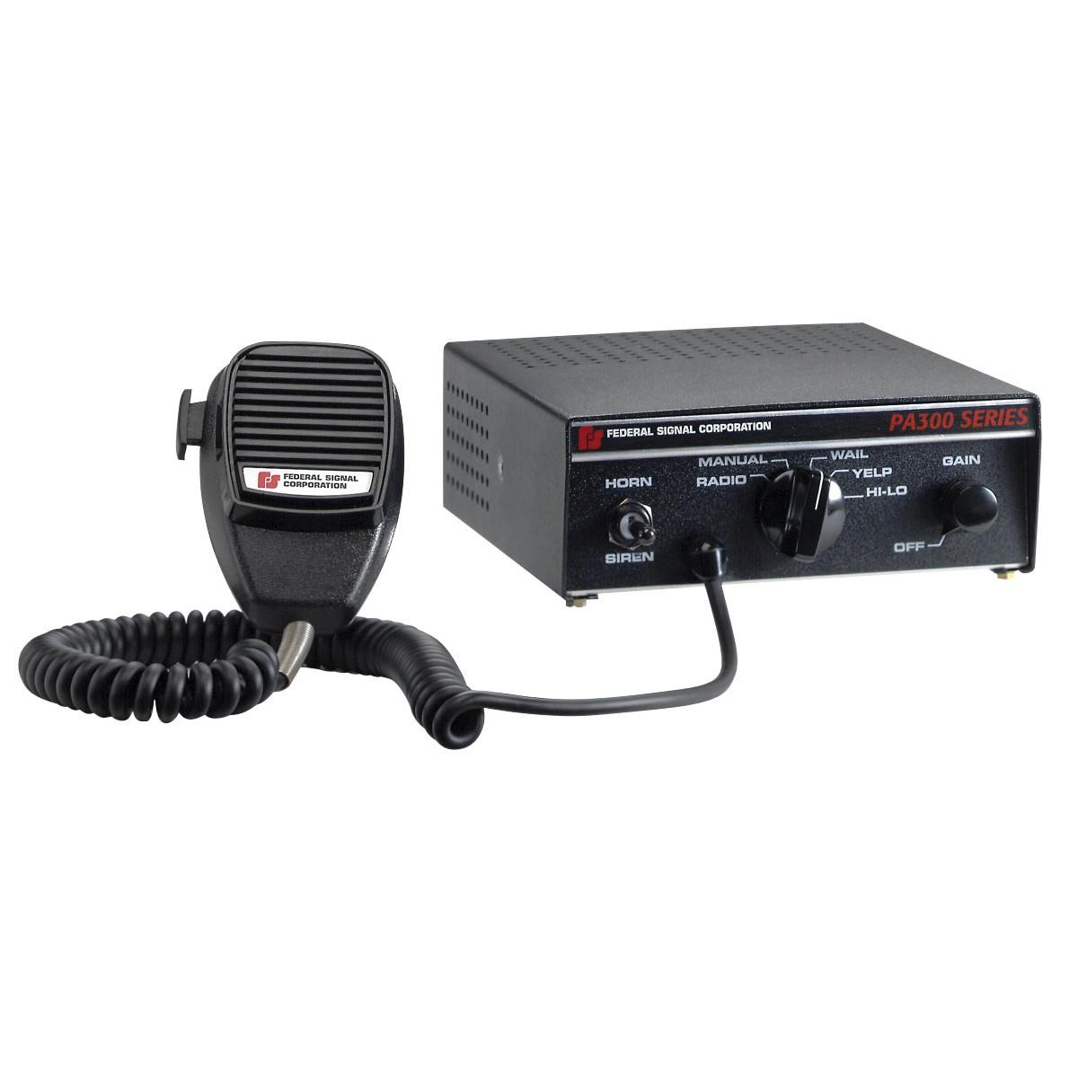 Federal Signal PA300 Siren -- Emergency Vehicle Warning Lights - Police Lights